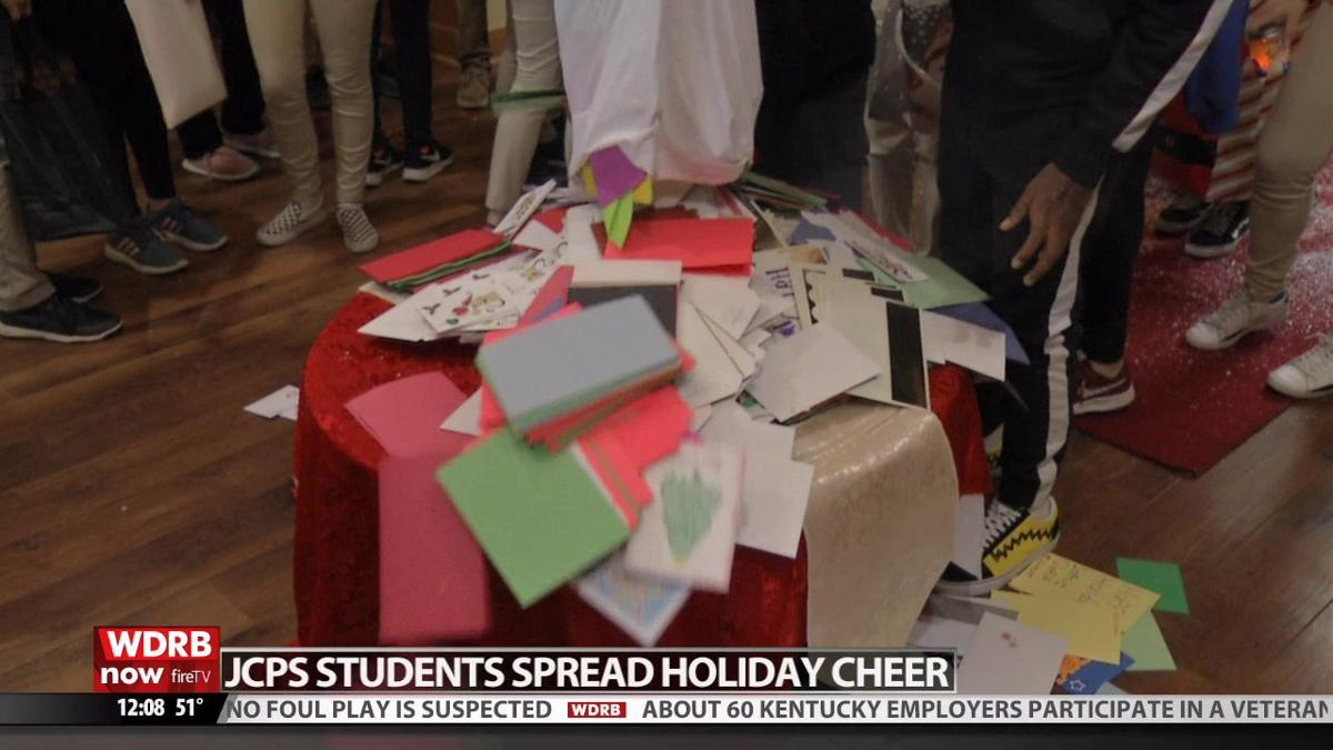 JCPS students help deliver 'Operation Holiday Card' campaign