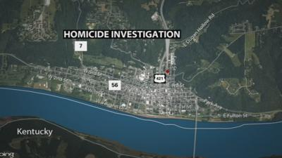 MAP: Location of Aug. 25, 2021 homicide scene in Madison, Indiana