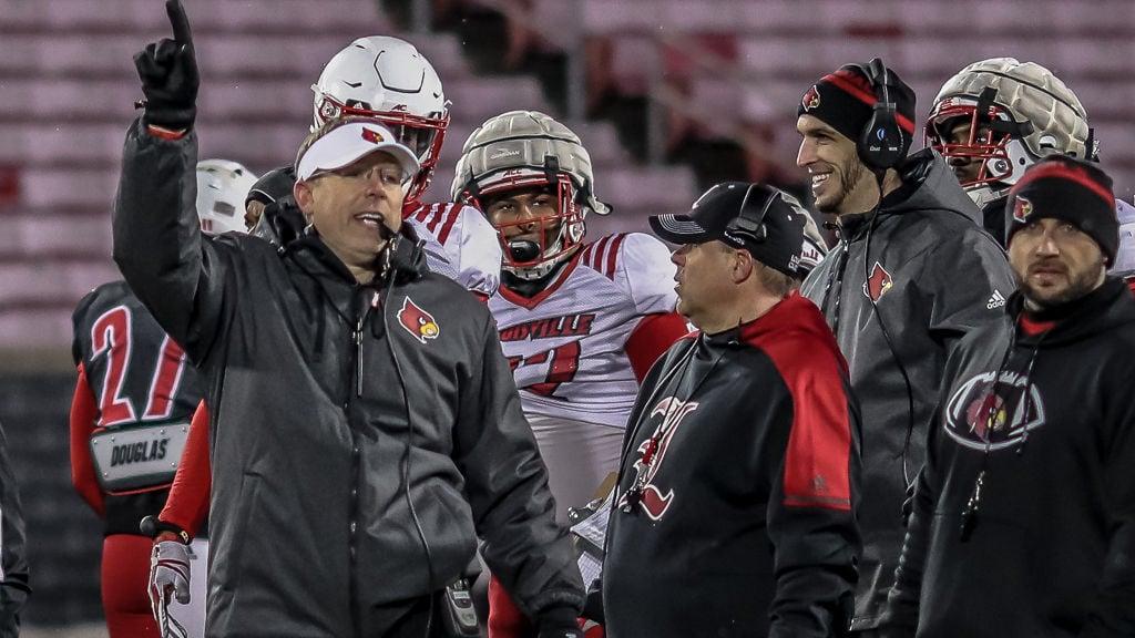 Scott Satterfield Louisville football