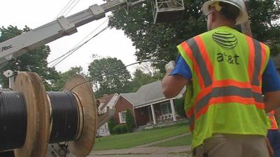 AT&T installing Internet fiber throughout Louisville