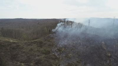 Voluntary evacuations underway as brush fire spreads in Floyd County