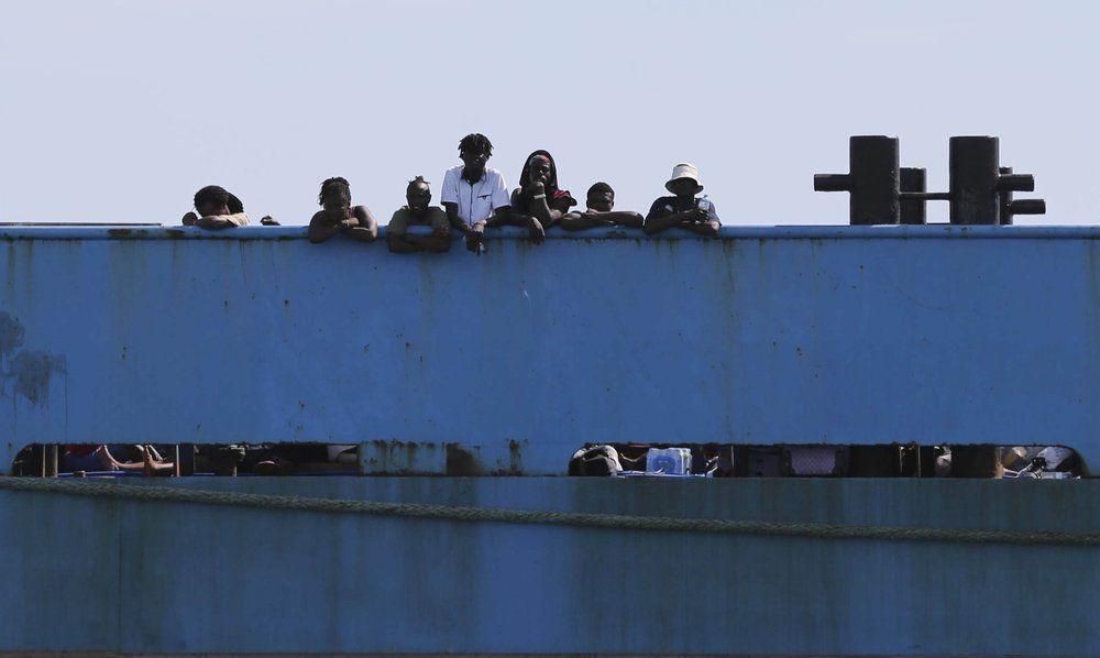 Dorian - Bahama Victims on Ferry