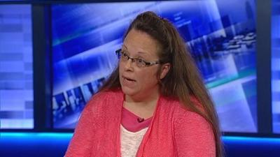 Rowan Co. Clerk Kim Davis says she has no regrets about refusal to issue marriage licenses