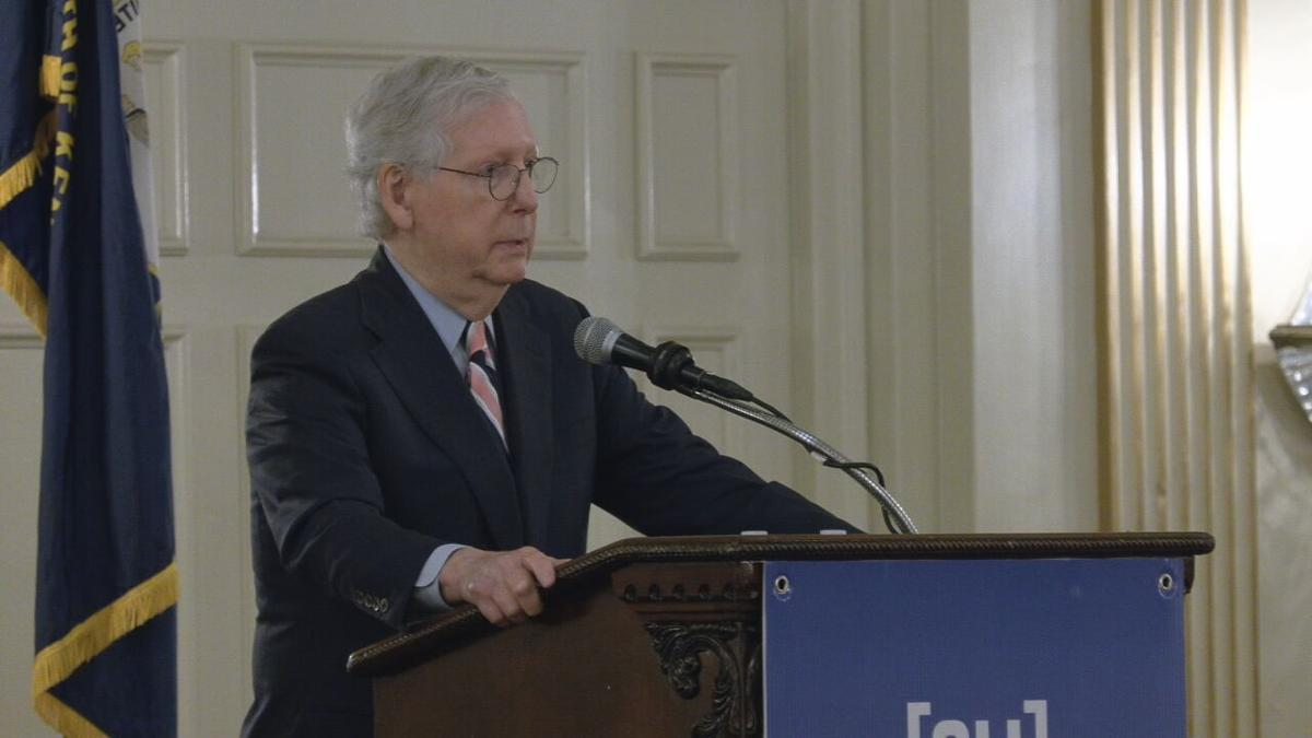 Mitch McConnell in Louisville