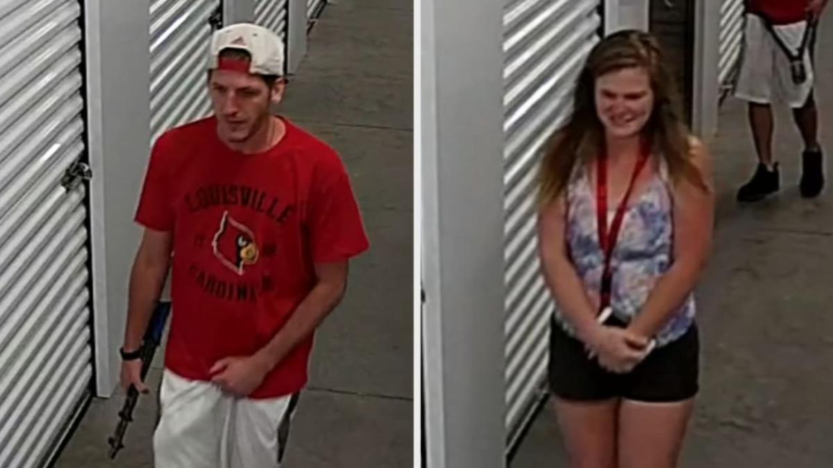 Suspected Clark County storage facility burglars
