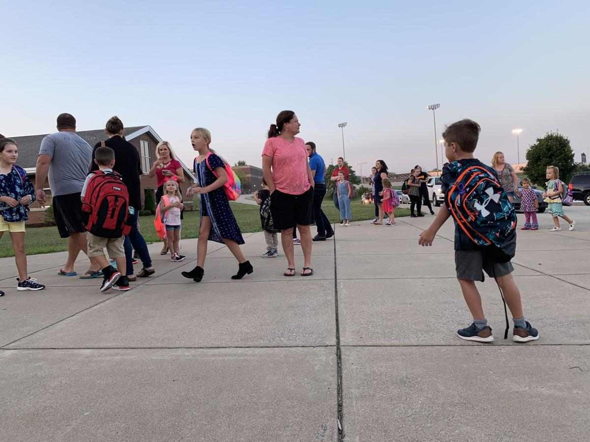 Oldham County first day of school 8-14-19 1