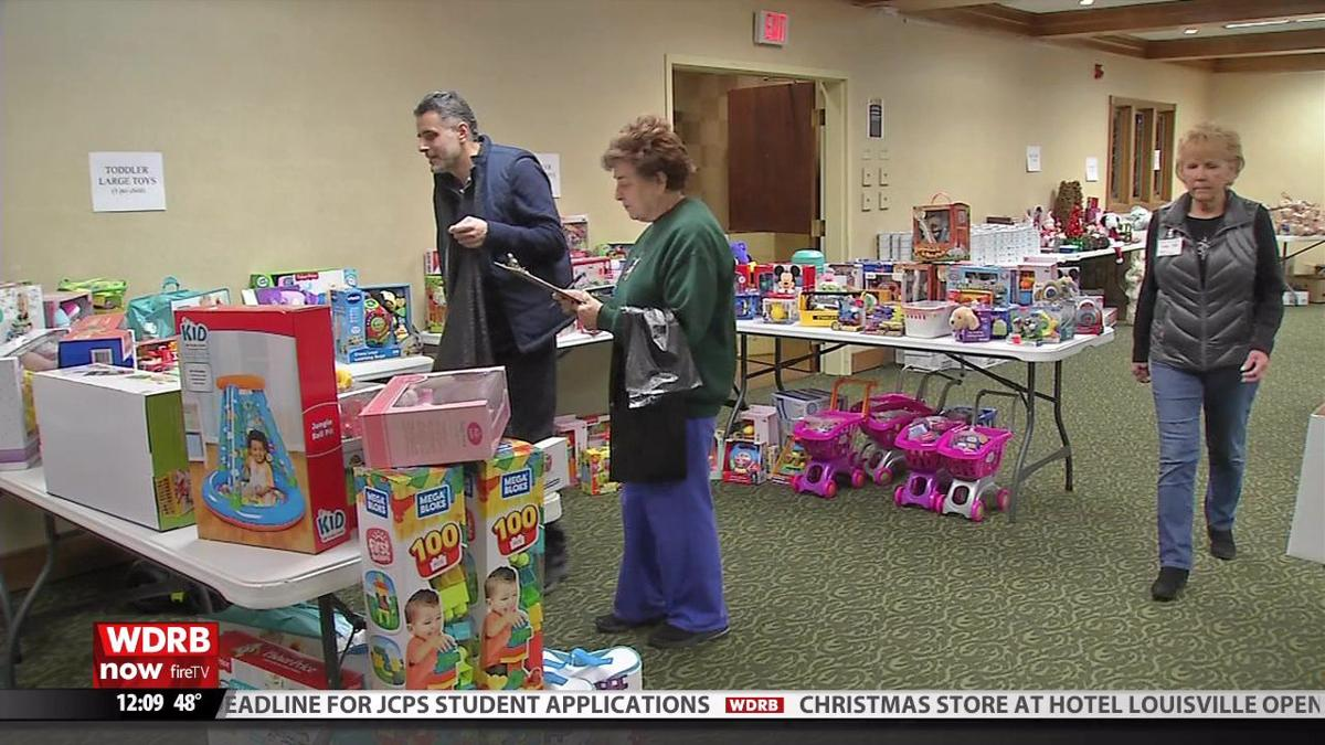 'Christmas Store' opens at Hotel Louisville, offering free gifts for those in need