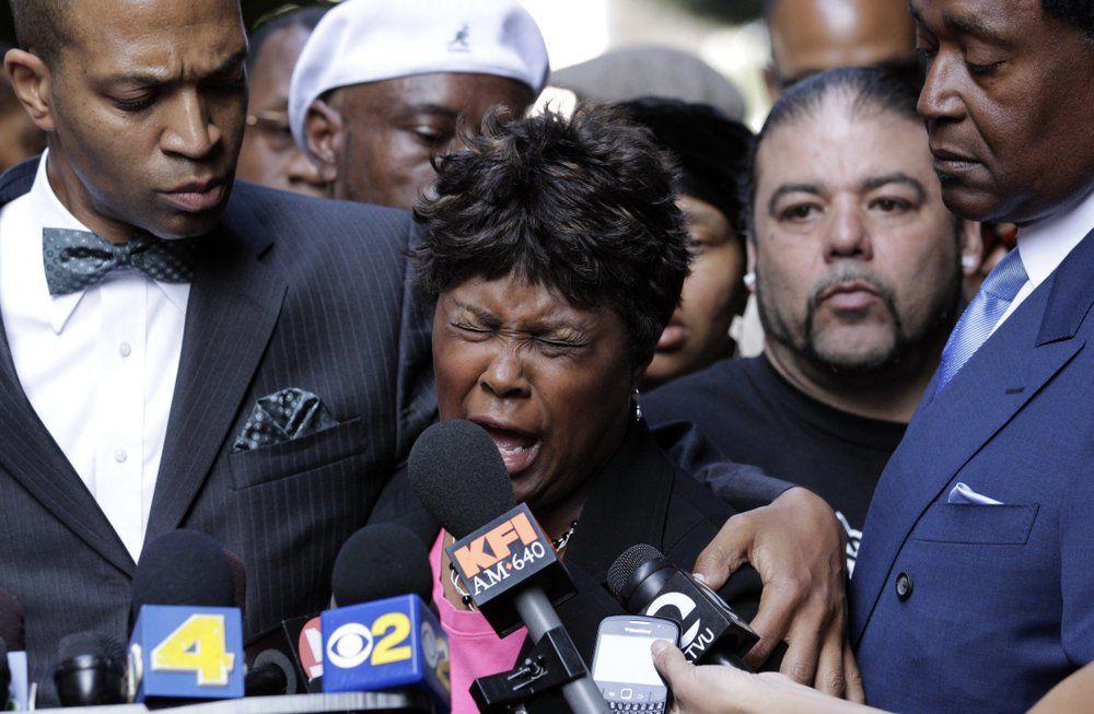 Wanda Johnson mother of Oscar Grant