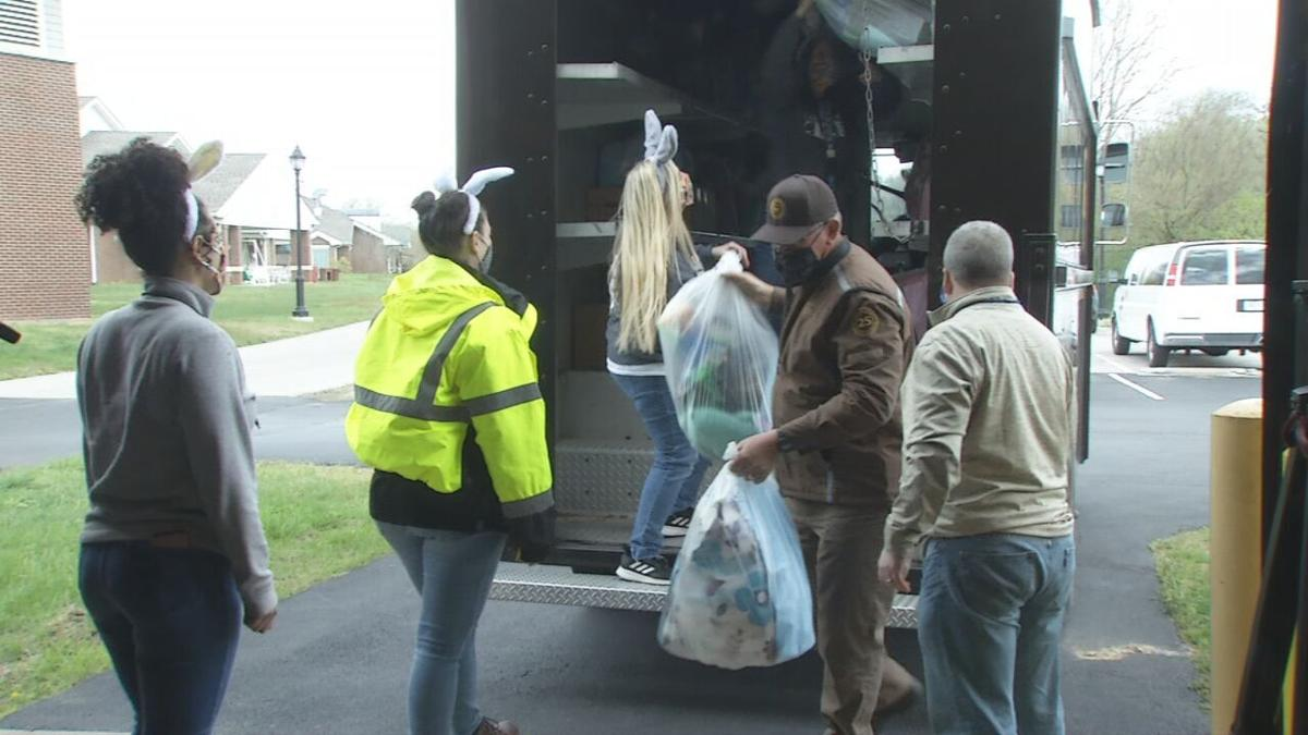 UPS employees donate Easter baskets to local kids in need.jpeg