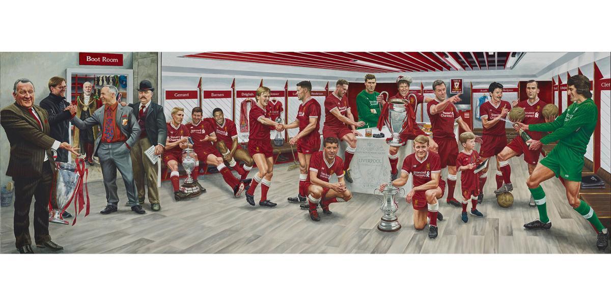 Liverpool Football Club painting