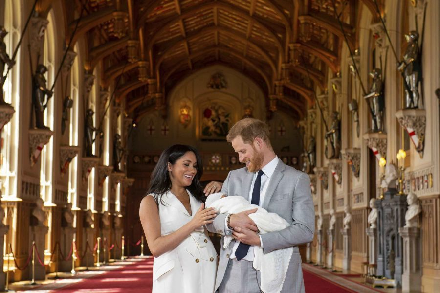 ROYAL BABY - HARRY AND MEAGHAN AP 1 5-8-19.jpg