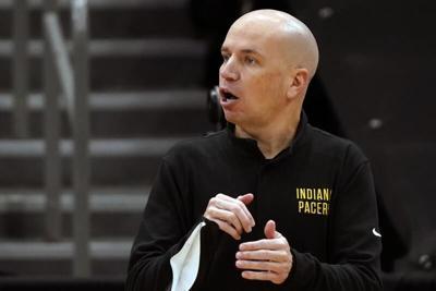 Indiana Pacers head coach Nate Bjorkgren