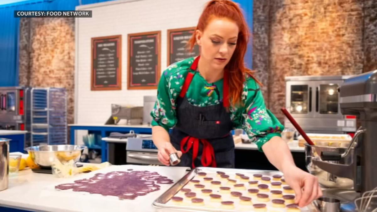 Louisville pastry chef Jackie Joseph competes on the Food Network's Best Baker in America contest
