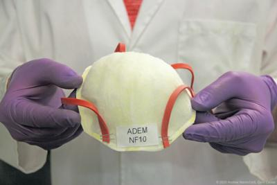 Reusable N95 mask developed by U of L researchers
