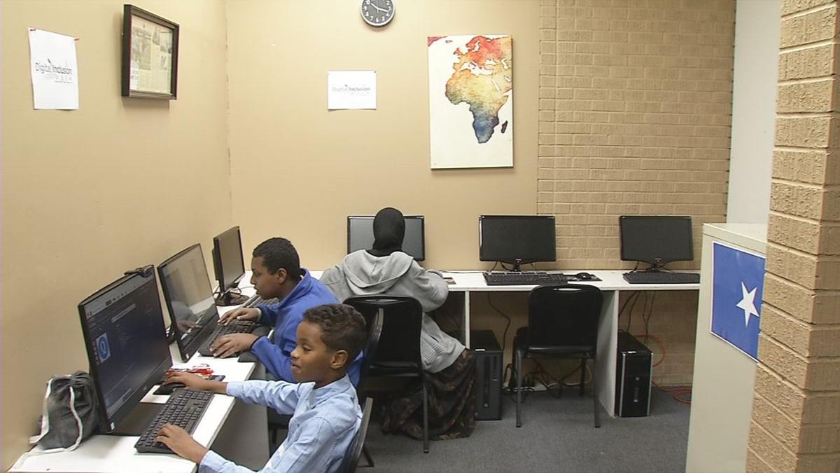 Somali Center New Computers - 10-8-19