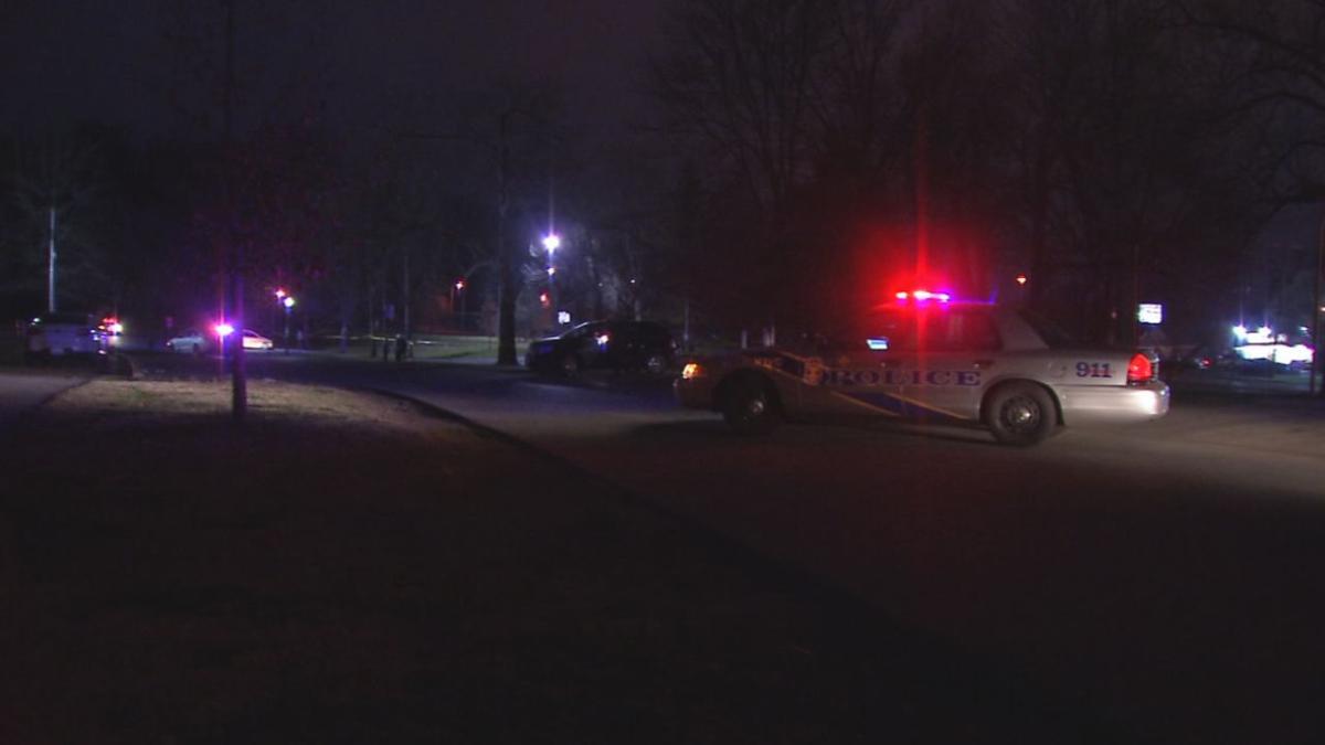Crime scene: Shooting of Darryl King Jr. in Iroquois Park on April 4, 2019