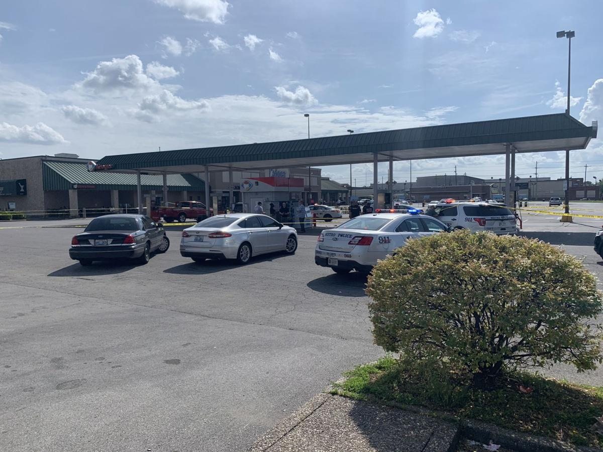 Police: 1 dead after shooting in parking lot of West Broadway Kroger