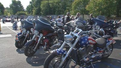 Motorcyclists gather for 15th annual bike run to raise funds for Homes For Our Troops