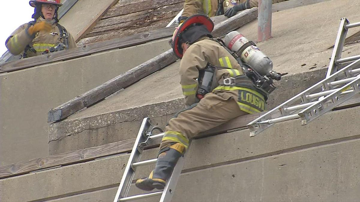 Louisville Fire Department recruits