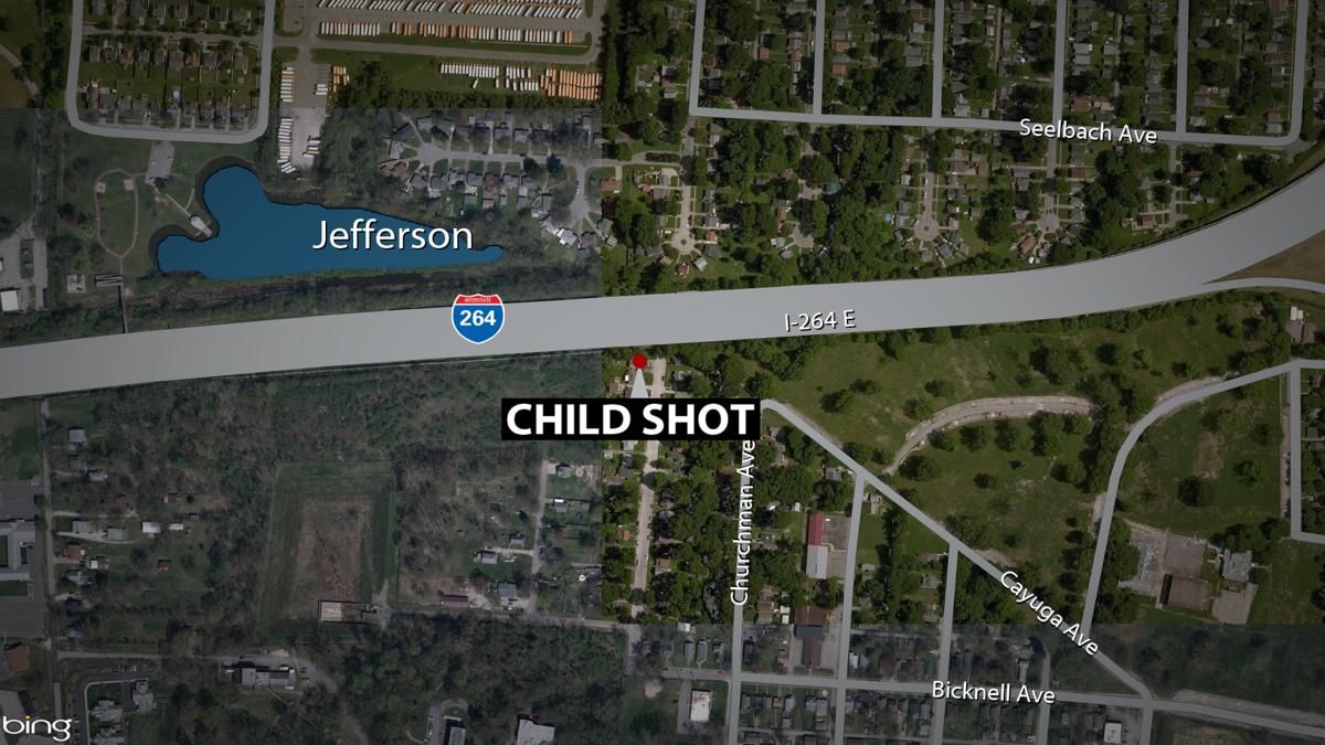 Map of shooting scene (4 year-old) in Jacobs neighborhood