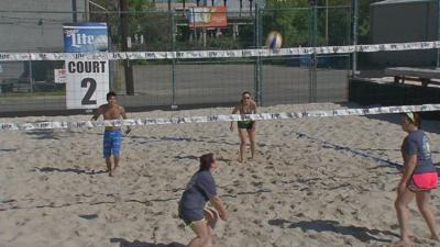 Kentucky Derby Festival Volleyball Classic Takes Place At Baxter Jacks News Wdrb Com