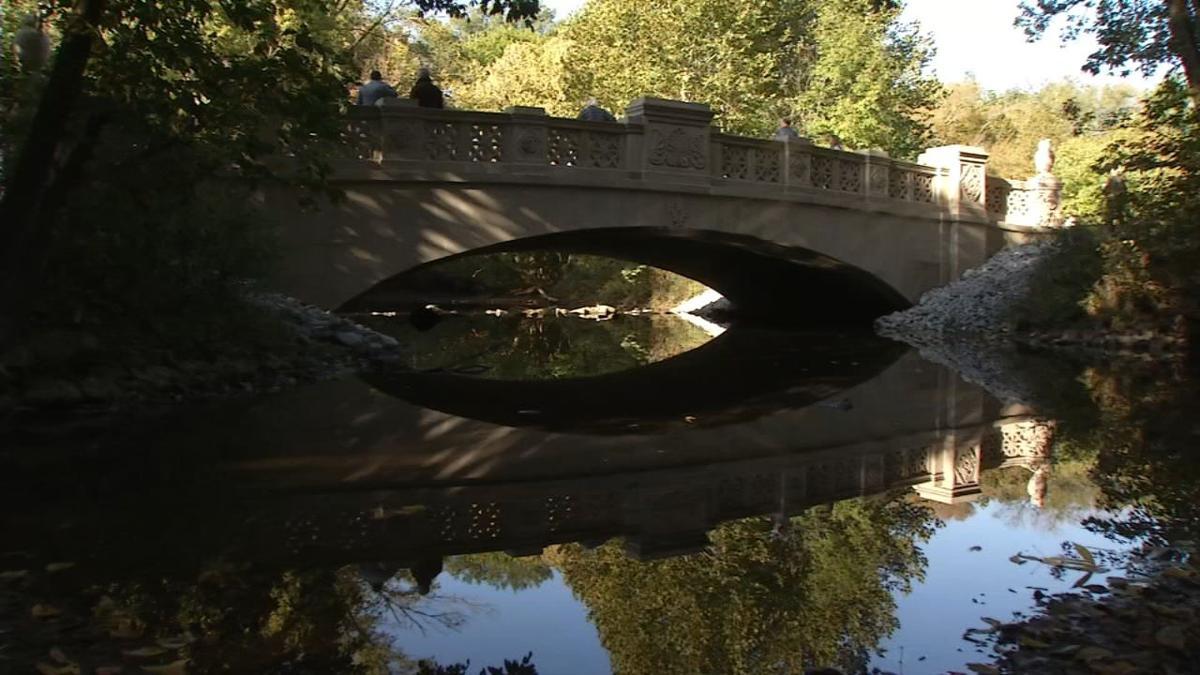 Cherokee Park's Bernheim Bridge reopens after $1 million in repairs (Oct. 15, 2019)