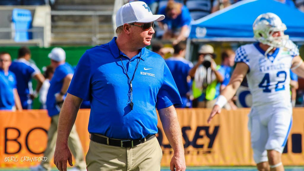 Mark Stoops Kentucky football