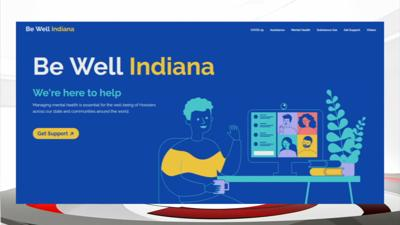 Be Well Indiana website