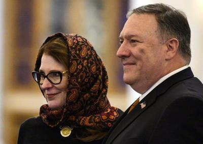 Pompeo with Wife