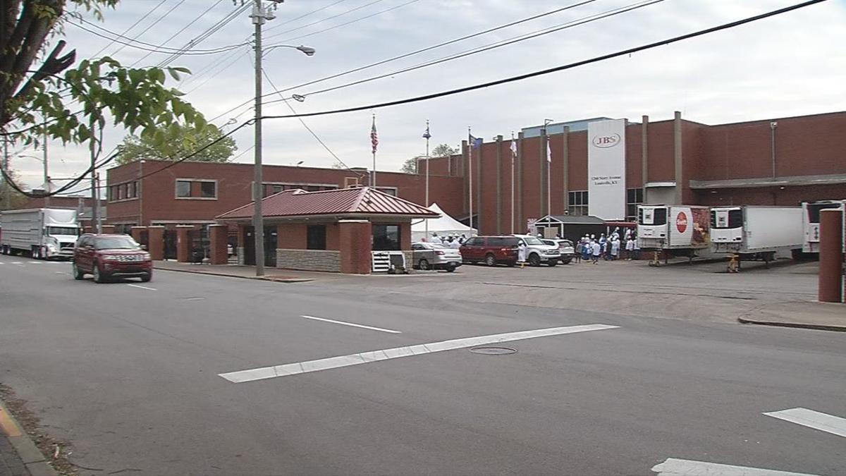 JBS plant in Louisville
