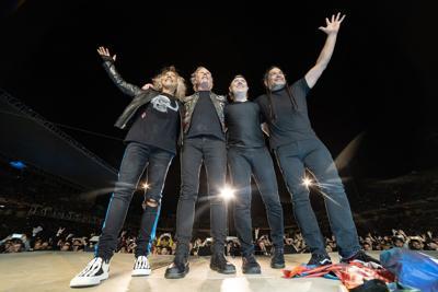 Metallica Facebook Photo