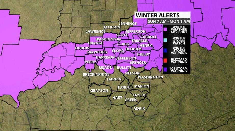 Winter Weather Advisory Issued | Weather Blog | wdrb com