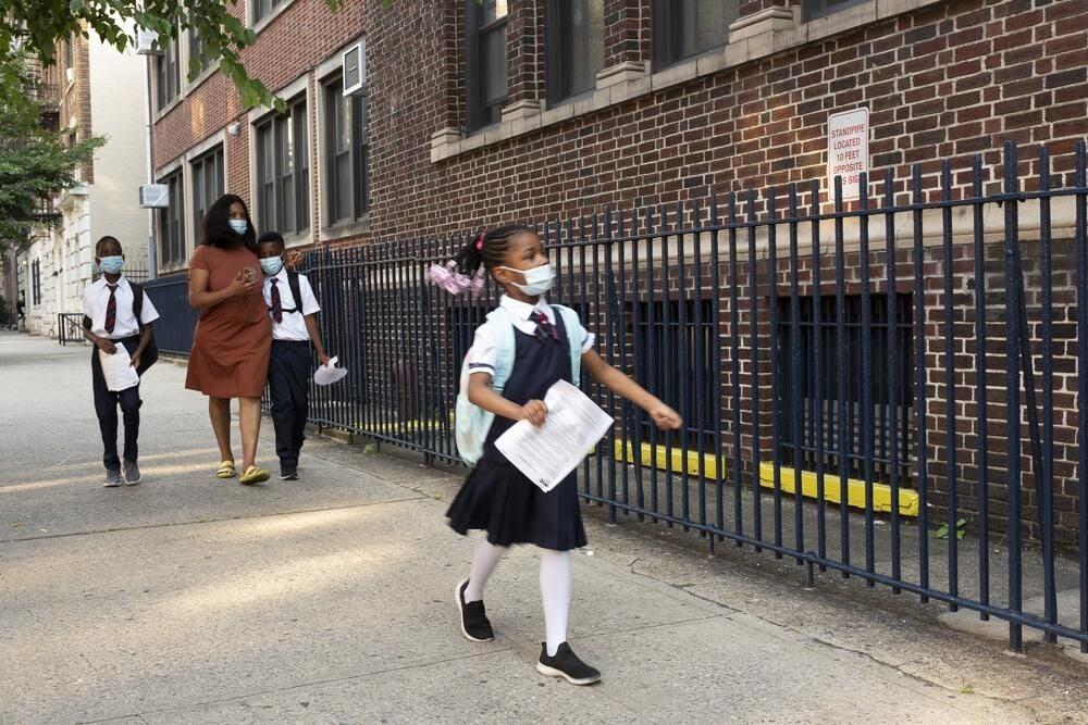 NYC PUBLIC SCHOOLS BEGIN - AP 9-13-2021 1.jpeg