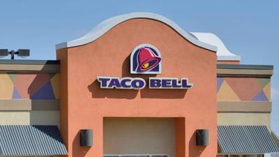 Taco Bell Store Front Head On