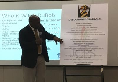 JCPS: Proposed W.E.B. Dubois Academy would target males of color