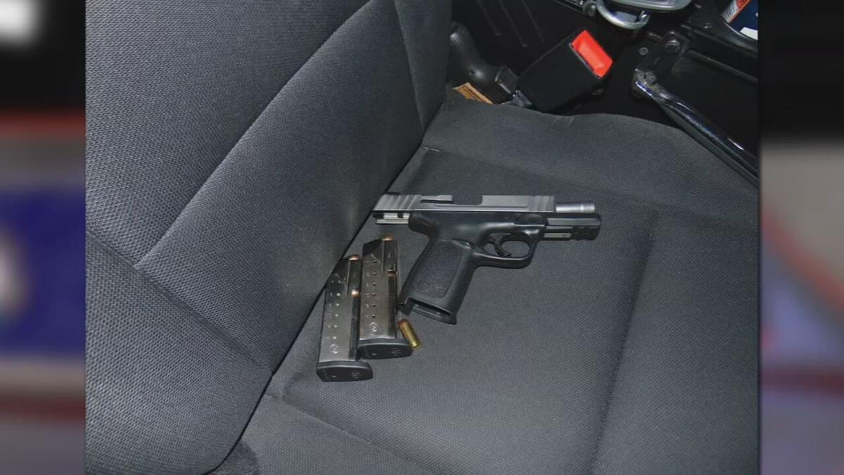 Gun from Columbus traffic stop