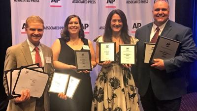 WDRB News honored for 'Overall Excellence' by the Associated Press