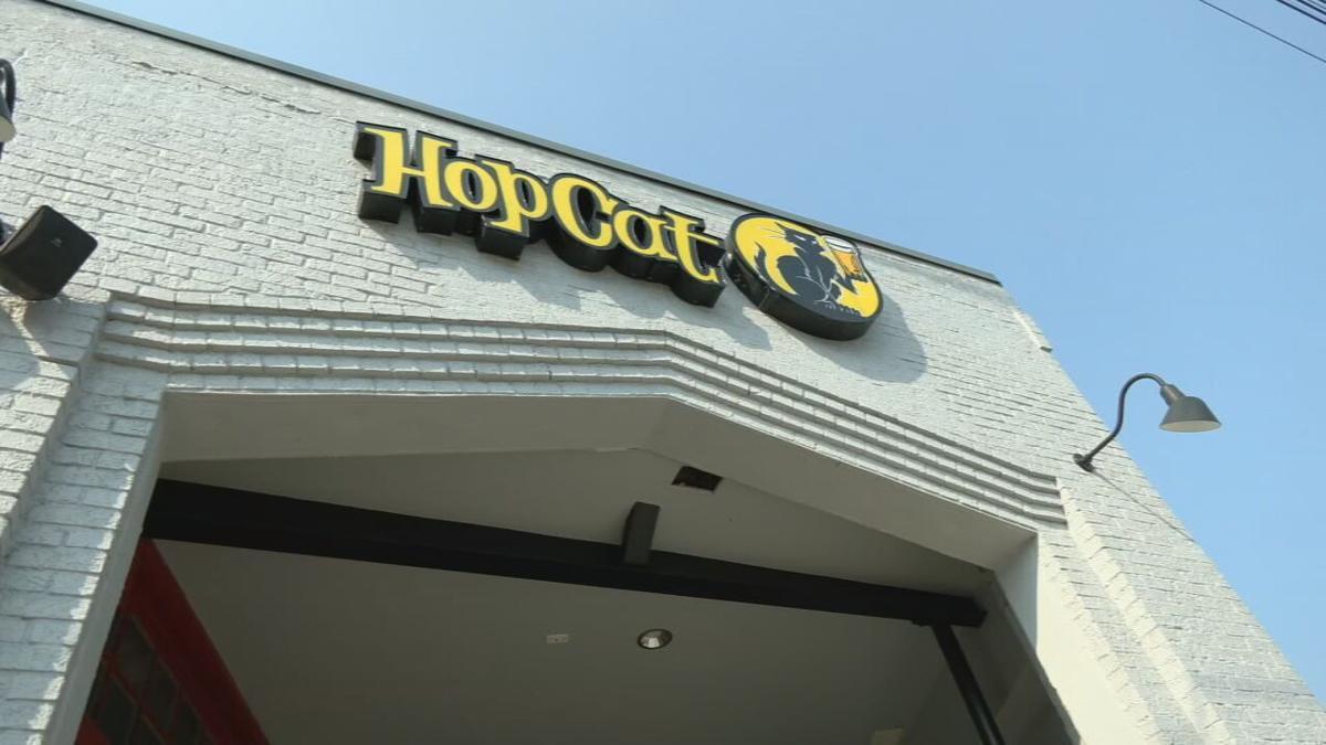 Exterior of HopCat bar