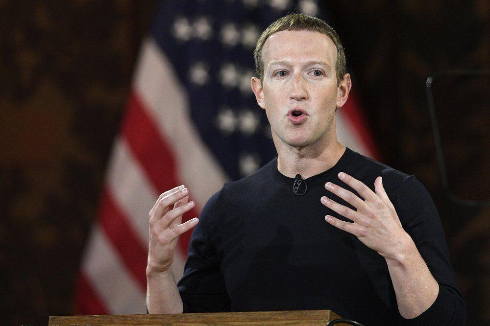 Facebook CEO Mark Zuckerberg speaks at Georgetown University