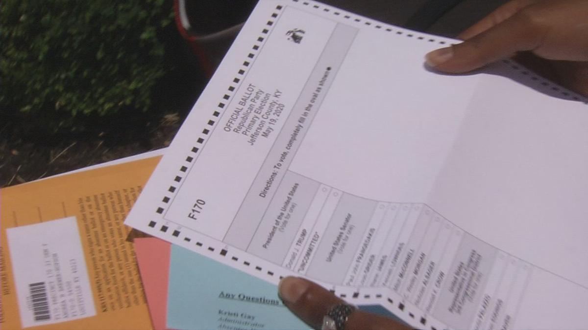 2020 primary absentee ballot