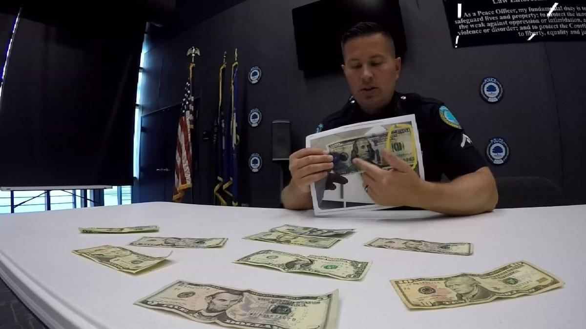 Police offer tips to spot counterfeit bills after several