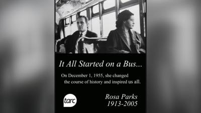TARC Rosa Parks Reserved Seat