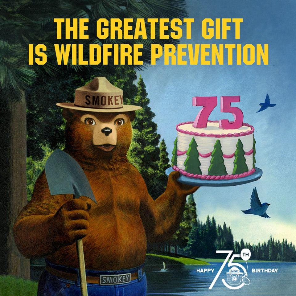 Smokey Bear 75th birthday celebration