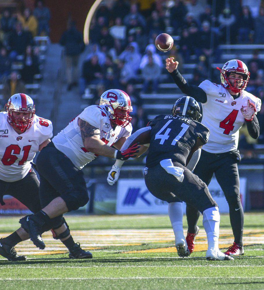 Western Kentucky quarterback Ty Storey