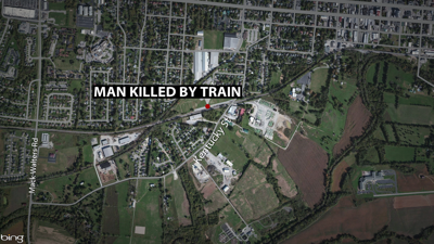 Shelbyville man killed by train