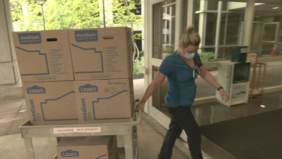Meal delivery to Baptist Health Louisville