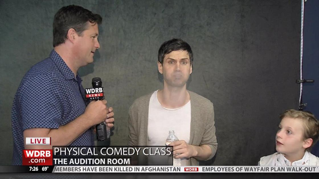 Practicing spit takes   Keith Kaiser   wdrb com