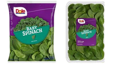 Dole Baby Spinach recall (Aug. 2019)