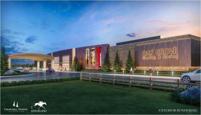 Churchill Downs gets OK for racing dates at planned track in Oak Grove, Ky.