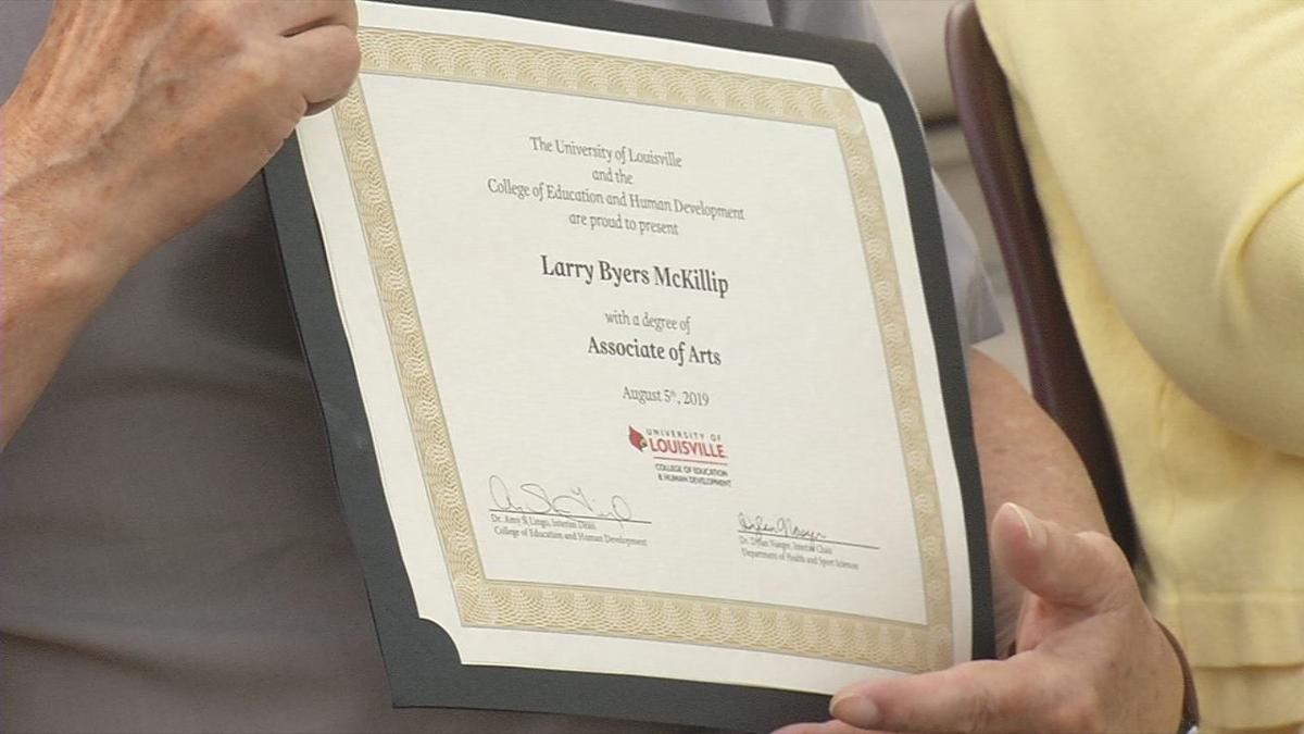 Associate degree for Larry McKillip